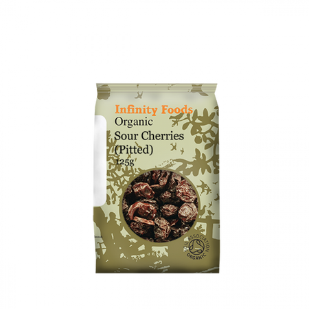 Infinity Foods Organic Sour Cherries (Pitted) 125g