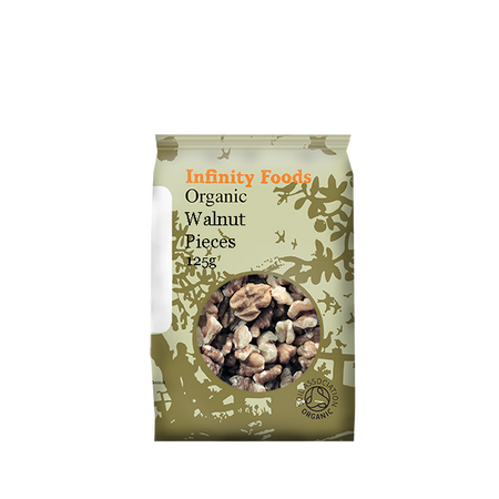 Infinity Foods Organic Walnut pieces 125g