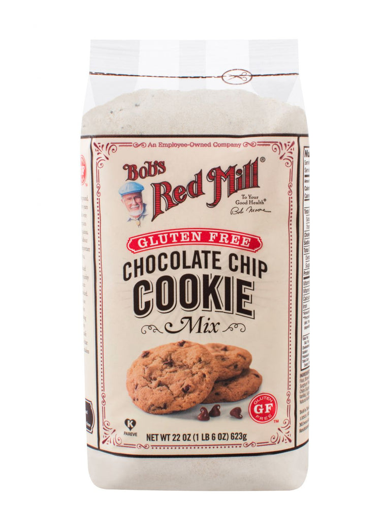 Bob's Red Mill Gluten Free Chocolate Chip Cookie Mix 623g