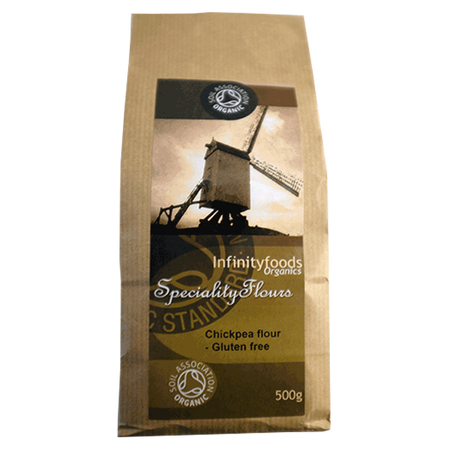 Infinity Foods Organic Chickpea Flour 500g, Gluten Free
