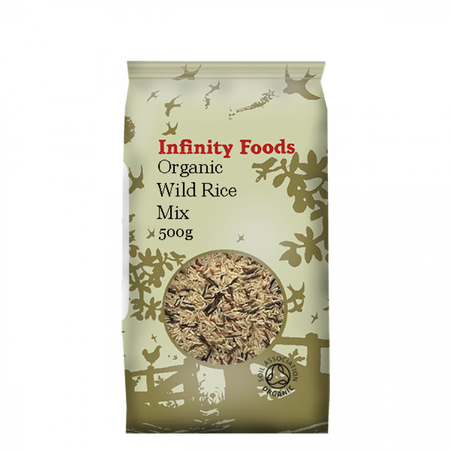 Infinity Foods Organic Wild Rice Mix 500g