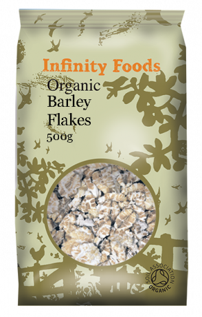 Infinity Foods Organic Barley Flakes 500g