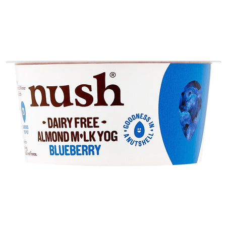 Nush Dairy Free Almond Milk Yogurt Blueberry 120g