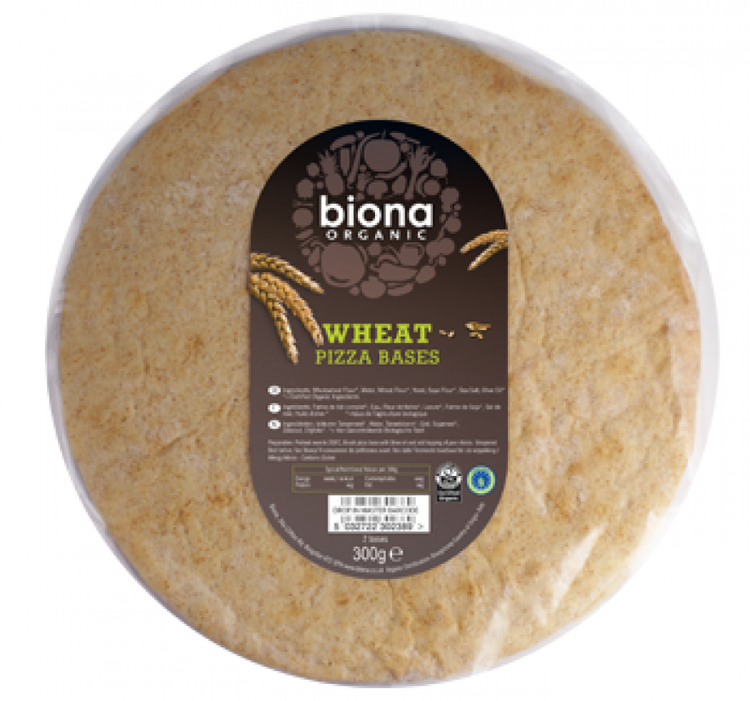 Biona Organic Wheat Pizza Bases 300g