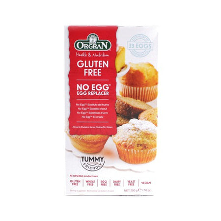 Orgran Gluten Free No Egg - Egg Replacer 200g