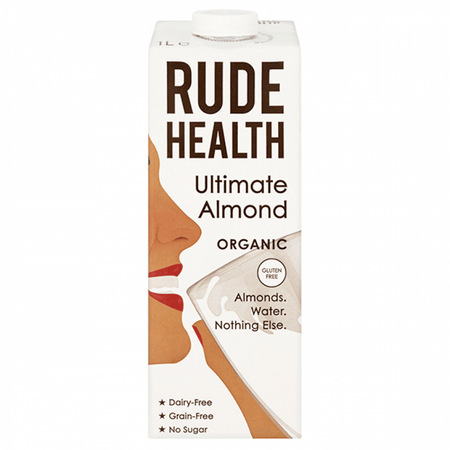 Rude Health Organic Ultimate Almond Drink 1L