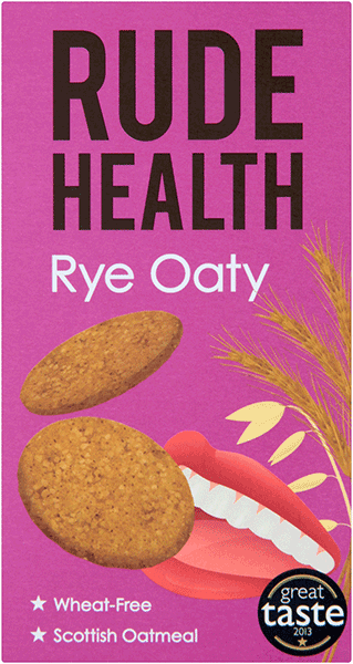 Rude Health Rye Oaty Biscuits 200g