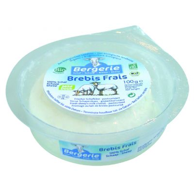Bergerie Organic Fresh Sheep Cheese 100g