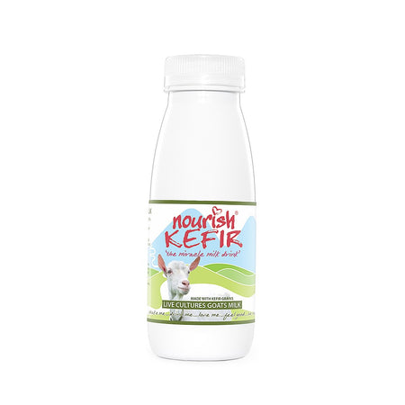 Nourish Organic Kefir Goat's Drink 250ml