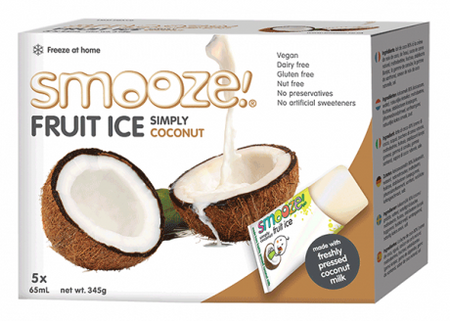 Smooze Fruit Ice Simply Coconut 5x65ml
