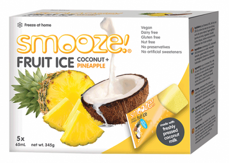Smooze Fruit Ice Coconut + Pineapple 5x65ml