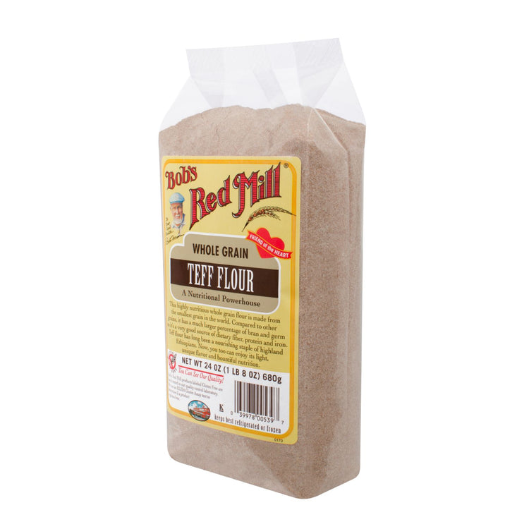 Bobs Red Mills Whole Grain Teff Flour