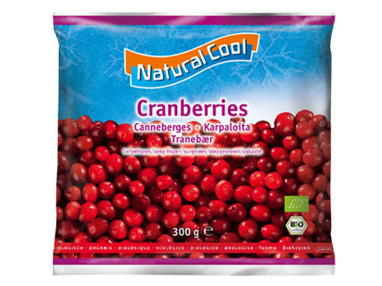 Natural Cool Organic Raspberries 300g