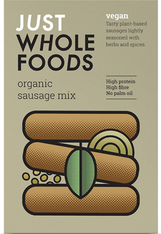 Just Whole Foods Organic Sausage Mix 125g