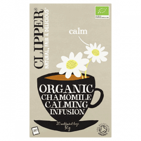 Clipper Organic Chamomile Calming Infusion 30g, 20bags