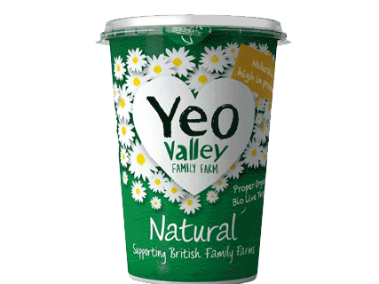 Yeo Valley Organic Yogurt Natural 500g