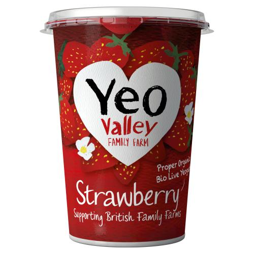 Yeo Valley WM Strawberry 450g