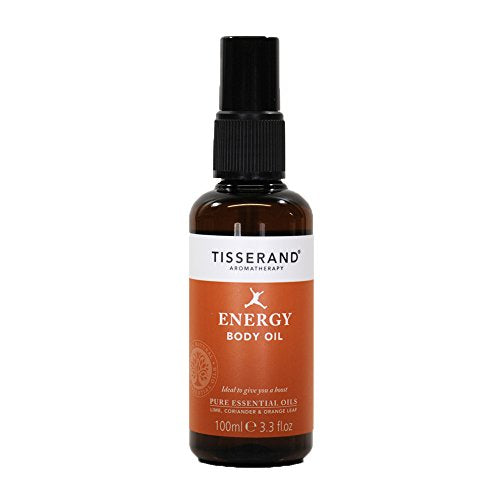 Tisserand Energy Body Massage Oil 100ml