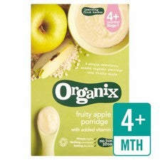 Organix Fruity Apple Porridge 120g