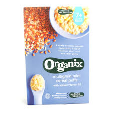 Organix Multigrainn Mini Puffs 90g