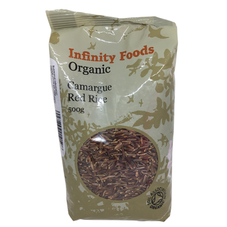 Infinity Foods Organic Camargue Red Rice 500g