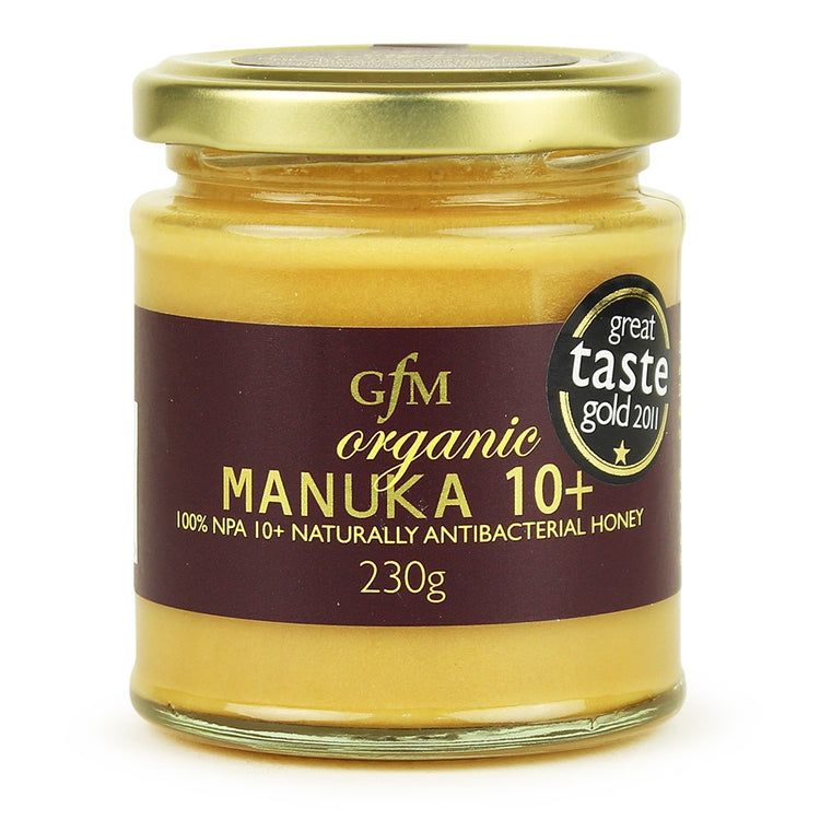 Gfm Organic Manuka Honey Npa 10+ 230g