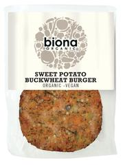Biona Organic Sweet Potato Buckwheat Burger 160g