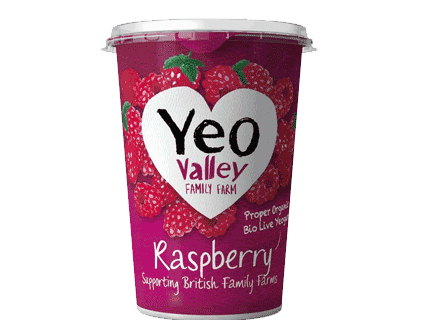 Yeo Valley WM Raspberry 450g
