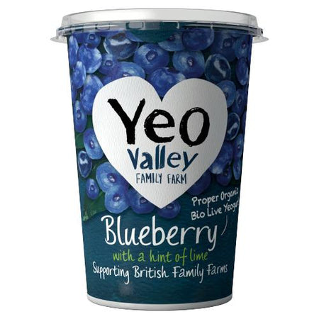 Yeo Valley WM Blueberry & Lime 450g