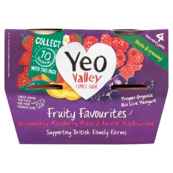 Yeo Valley WM Fruity Favourites 4X120g