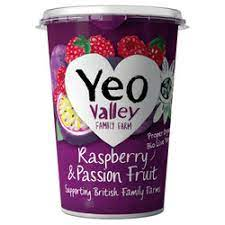 Yeo Valley WM Raspberry & Passion Frt 450g