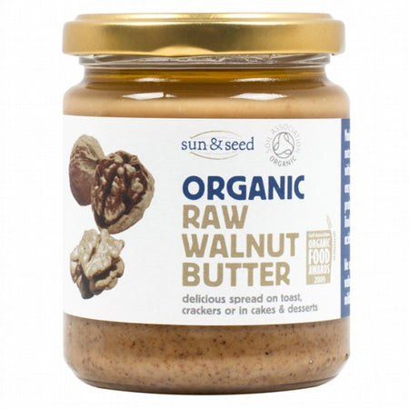 Sun And Seed Organic Raw Walnut Butter