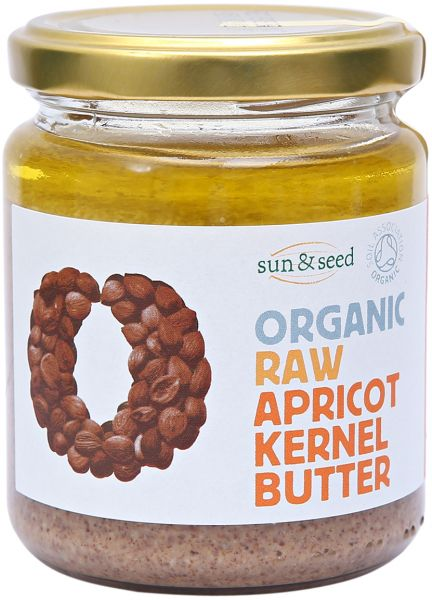 Sun And Seed Organic Raw Apricot Kernel Butter