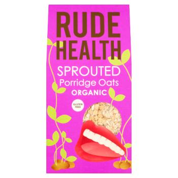 Rude Health Organic Sprouted Porridge Oats 500g