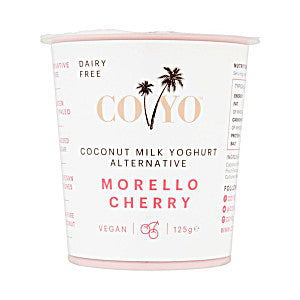 Coyo Morello Cherry Coconut Milk Yoghurt Alternative 125g