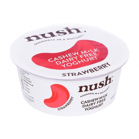 Nush Cashew Milk Strawberry Yogurt 125g