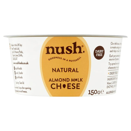 Nush Natural Almond Milk Cheese 150g