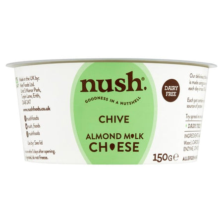 Nush Chive Almond Milk Cheese 150g