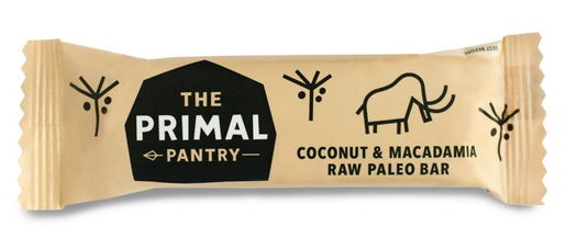 The Primal Pantry Coconut & Macadamia Paleo Bar 45g