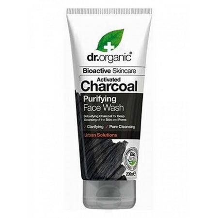 Dr Organic Charcoal Face Wash 200ml