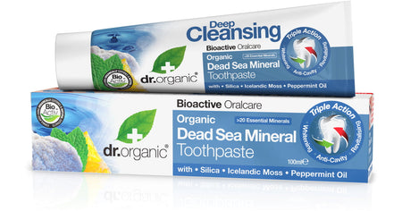 Dr Organic Dead Sea Toothpaste	 100ml