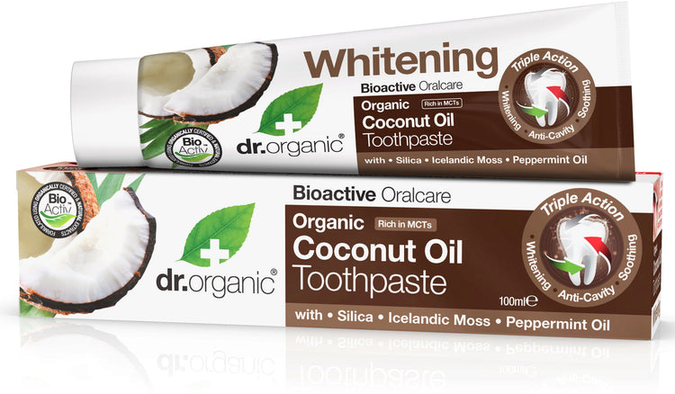 Dr Organic Virgin Coconut Oil Toothpaste 100ml