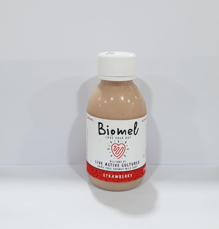Biomel Strawberry Coconut Milk Shot 125ml