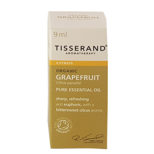 Tisserand Organic Grapefruit Essential Oil 9ml