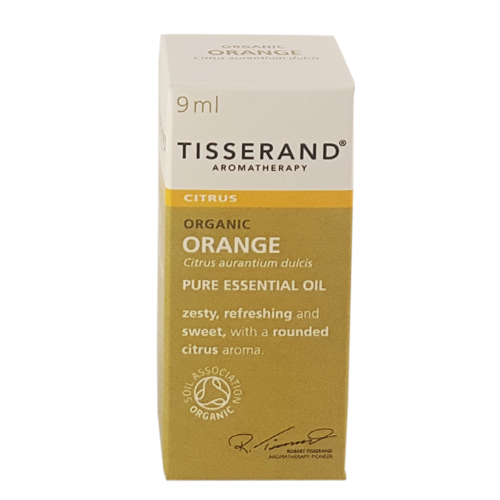 Tisserand Organic Orange Essential Oil 9ml