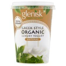 Glenisk Organic Greek Style Natural 500g