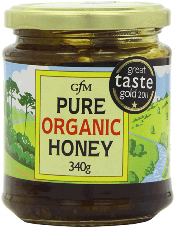 Gfm Organic Pure Honey Clear 340g