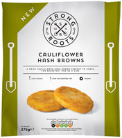 Strong Roots Cauliflower Hash Browns 375g