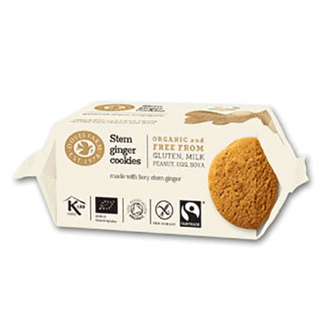 Doves Farm Organic Stem Ginger Cookies 150g