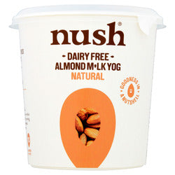Nush Dairy Free Almond Milk Yogurt Natural 350g